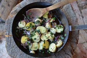Jitrocelová bramborová pánev