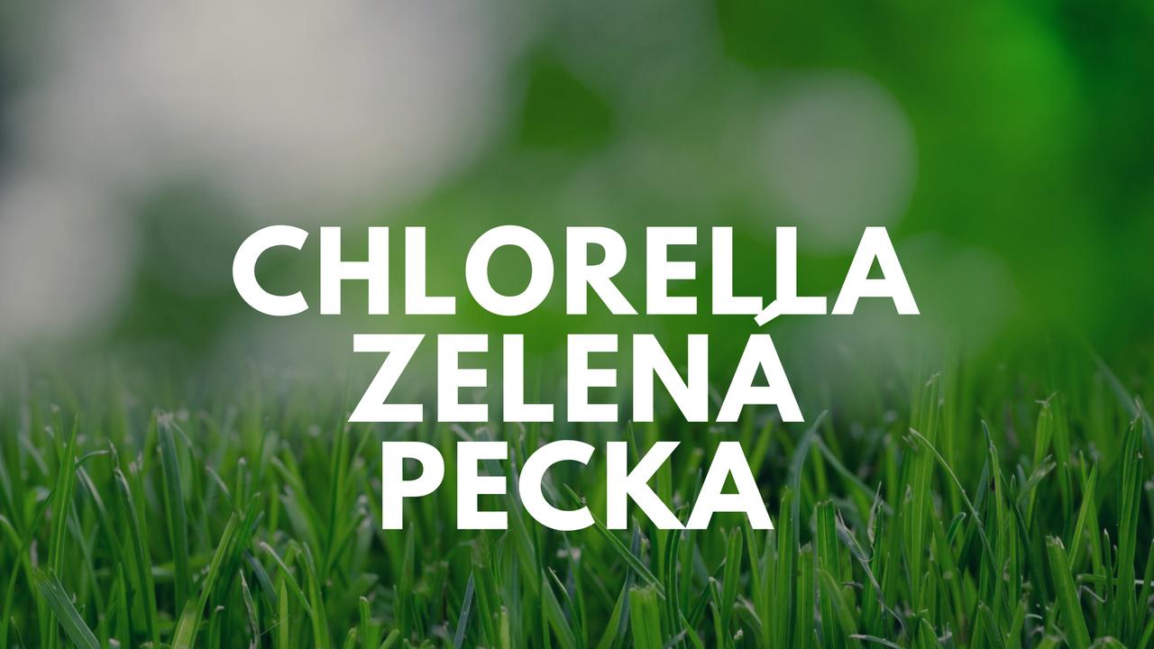 Chlorellazelenápecka